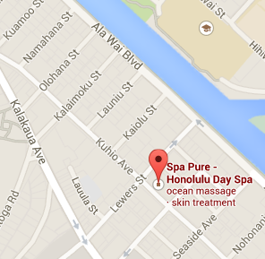spa pure map